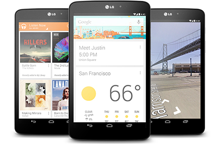 LG G Pad 8.3 Google